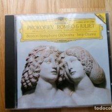 CDs de Música: CD PROKOFIEV, ROMEO Y JULIETA (EXTRACTOS), SEIJI OZAWA, DG, BOSTON S.O., . Lote 157938718