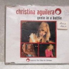 CDs de Música: CD MAXI - CHRISTINA AGUILERA - GENIE IN A BOTTLE. Lote 157964890
