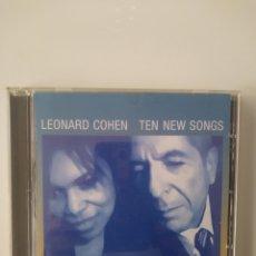 CDs de Música: LEONARD COHEN.TEN NEW SONGS.CD.2001. Lote 158051690