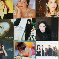 CDs de Música: GLORIA ESTEFAN. MONTUNO. AYER. TURN THE BEAT AROUND. LEJOS DE TI. NO PRETENDO. CUB (17 CD SINGLES). Lote 12557217