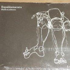 CDs de Música: ESPALDAMACETA / MIEDO AL SILENCIO / DIGIPACK-CD - BANKROBBER-2010 / 11 TEMAS / PRECINTADO.. Lote 158182910