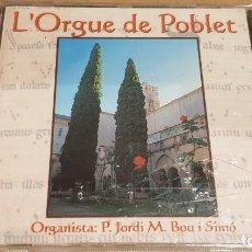 CDs de Música: L'ORGUE DE POBLET / ORGANISTA: JORDI M. BOU I SIMÓ / CD-PDI-1999 / 17 TEMAS / PRECINTADO.. Lote 158187518