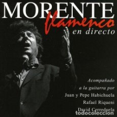 CD de Música: ENRIQUE MORENTE - FLAMENCO EN DIRECTO - CD . Lote 158213658