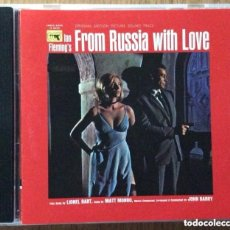 CDs de Música: 007 FROM RUSSIA WITH LOVE SOUNDTRACK JOHN BARRY. Lote 158216486