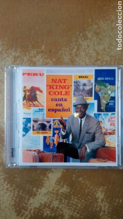 NAT KING COLE–NAT KING COLE CANTA EN ESPAÑOL! - CD PERFECTO ESTADO. JACKPOT RECORDS. (Música - CD's Jazz, Blues, Soul y Gospel)