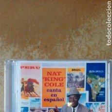 CDs de Música: NAT KING COLE–NAT KING COLE CANTA EN ESPAÑOL! - CD PERFECTO ESTADO. JACKPOT RECORDS.. Lote 158227426