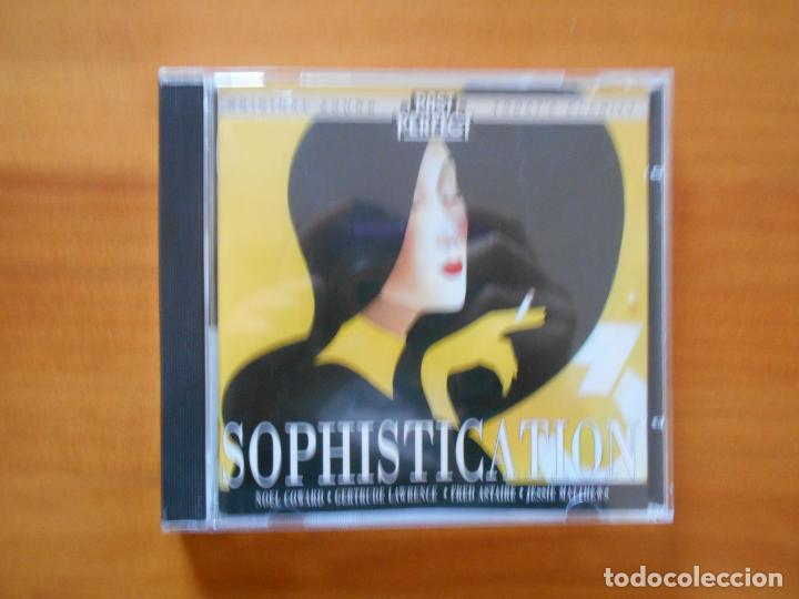 CD SOPHISTICATION 3 - NOEL COWARD, GERTRUDE LAWRENCE, FRED ASTAIRE, JESSIE MATTHEWS... (CR) (Música - CD's Jazz, Blues, Soul y Gospel)