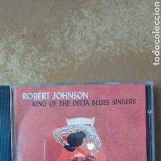 CDs de Música: ROBERT JOHNSON–KING OF THE DELTA BLUES SINGERS - CD BUEN ESTADO. Lote 158230230