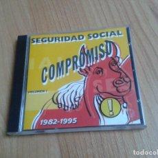 CDs de Música: SEGURIDAD SOCIAL -- COMPROMISO -- 1982-1995 -- VOLUMEN I -- GASA, 1994. Lote 158231150