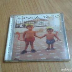 CDs de Música: PASO A PASO -- CANCIÓN DE AUTOR PUNK -- DESCATALOGADO --SENTIMIENTOS CONTRA EL PODER -- MADRID 2002. Lote 158241946