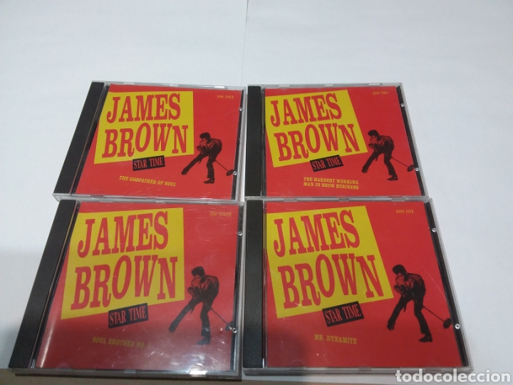 CDs de Música: 4CD JAMES BROWN STAR TIME - Foto 1 - 158289238