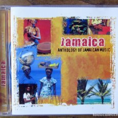CDs de Música: JAMAICA, ANTHOLOGY OF JAMAICAN MUSIC - 2005 - DENNIS BROWN, PARAGONS, HEPTONES, REGGAE. Lote 158299150