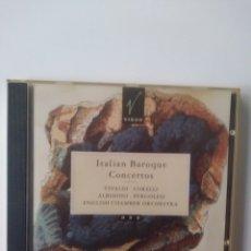 CDs de Música: ITALIAN BAROQUE CONCERTOS.CD.1991.. Lote 158303424