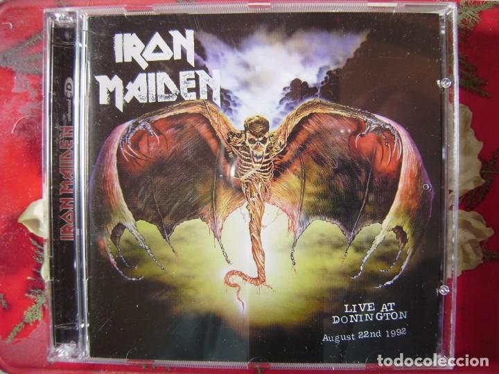 IRON MAIDEN.LIVE AT DONINGTON 1992...DOBLE CD (Música - CD's Heavy Metal)