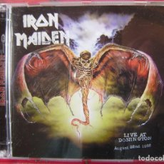 CDs de Música: IRON MAIDEN.LIVE AT DONINGTON 1992...DOBLE CD. Lote 158316806