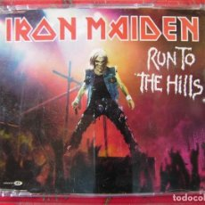 CDs de Música: IRON MAIDEN.RUN TO THE HILLS..CD MAXI..5 TEMAS. Lote 158319514