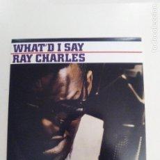 CDs de Música: RAY CHARLES WHAT'D I SAY ( 1959 DOL 2018 ) MINI REPLICA EXCELENTE ESTADO. Lote 158332182