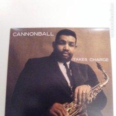 CDs de Música: CANNONBALL ADDERLEY QUARTET TAKES CHARGE ( 1959 DOL 2018 ) PERCY HEATH PAUL CHAMBERS ALBERT HEATH. Lote 158343474