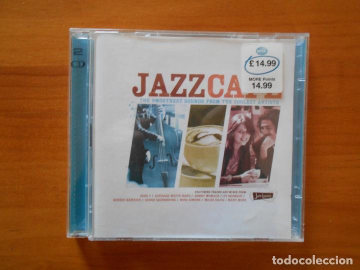 CD JAZZCAFE - JAZZ CAFE (2 CD'S) - HERBIE HANCOCK, SERGE GAINSBOURG, NINA SIMONE... (CR) (Música - CD's Jazz, Blues, Soul y Gospel)