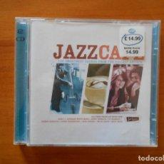 CDs de Música: CD JAZZCAFE - JAZZ CAFE (2 CD'S) - HERBIE HANCOCK, SERGE GAINSBOURG, NINA SIMONE... (CR). Lote 158353582