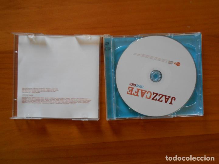 CDs de Música: CD JAZZCAFE - JAZZ CAFE (2 CD'S) - HERBIE HANCOCK, SERGE GAINSBOURG, NINA SIMONE... (CR) - Foto 2 - 158353582