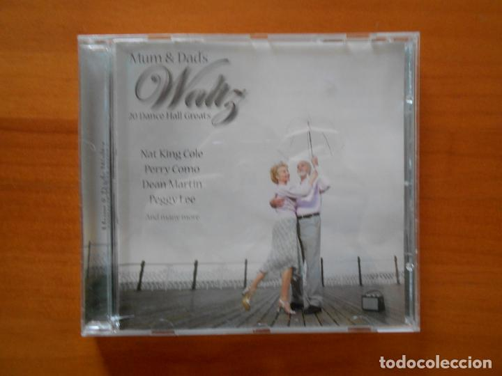 CD MUM & DADS WALTZ - NAT KING COLE, PERRY COMO, DEAN MARTIN, PEGGY LEE... (CR) (Música - CD's Jazz, Blues, Soul y Gospel)