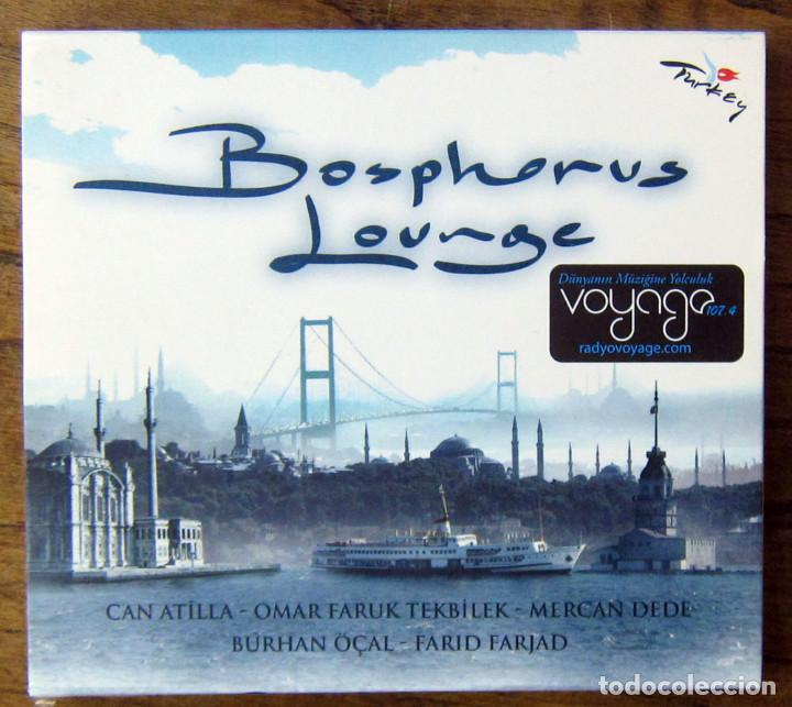 BOSPHOROUS LOUNGE - 2006 - CHILL OUT, TURQUIA - CAN ATILLA, OMAR FARUK (Música - CD's New age)