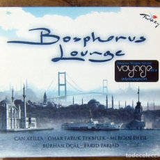CDs de Música: BOSPHOROUS LOUNGE - 2006 - CHILL OUT, TURQUIA - CAN ATILLA, OMAR FARUK. Lote 158396882