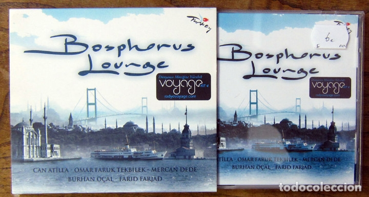 CDs de Música: BOSPHOROUS LOUNGE - 2006 - CHILL OUT, TURQUIA - CAN ATILLA, OMAR FARUK - Foto 3 - 158396882