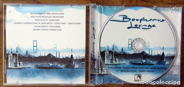CDs de Música: BOSPHOROUS LOUNGE - 2006 - CHILL OUT, TURQUIA - CAN ATILLA, OMAR FARUK - Foto 4 - 158396882