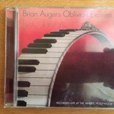 CDs de Música: BRIAN AUGER'S OBLIVION EXPRESS: LIVE OBLIVION VOL. 2 (CON BONUS TRACK). Lote 158426830