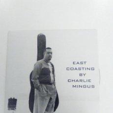CDs de Música: CHARLES MINGUS EAST COASTING ( 1959 DOL 2017 ) MINI REPLICA EXCELENTE ESTADO BILL EVANS. Lote 158447182