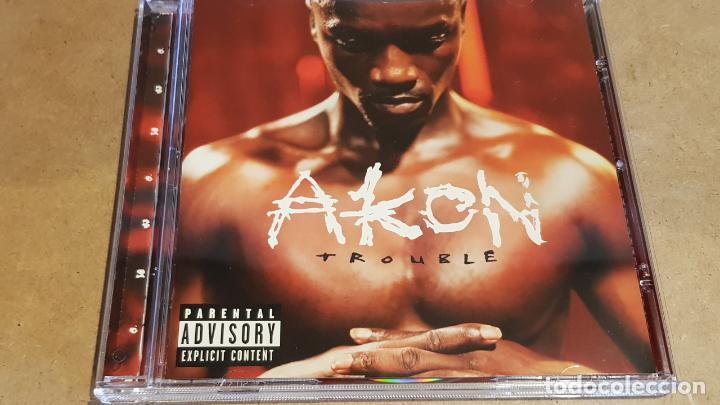 AKON / TROUBLE / CD - SRC / 13 TEMAS / CALIDAD LUJO. (Música - CD's Hip hop)