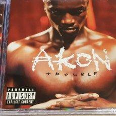 CDs de Música: AKON / TROUBLE / CD - SRC / 13 TEMAS / CALIDAD LUJO.. Lote 158458646