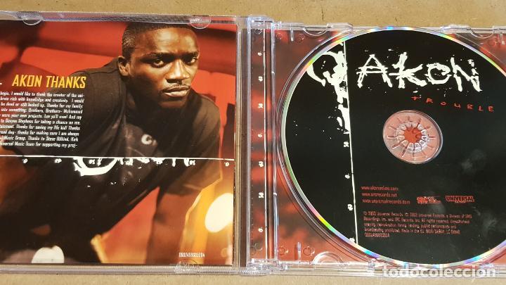 CDs de Música: AKON / TROUBLE / CD - SRC / 13 TEMAS / CALIDAD LUJO. - Foto 2 - 158458646