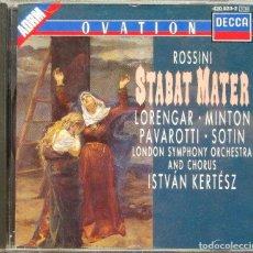 CDs de Música: ROSSINI - STABAT MATER. Lote 158483078