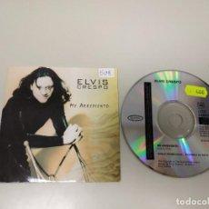 CDs de Música: 419- ELVIS CRESPO SUAVEMENTE AUSTRIA 1 TRACKS PROMOCIONAL CD. Lote 158506826