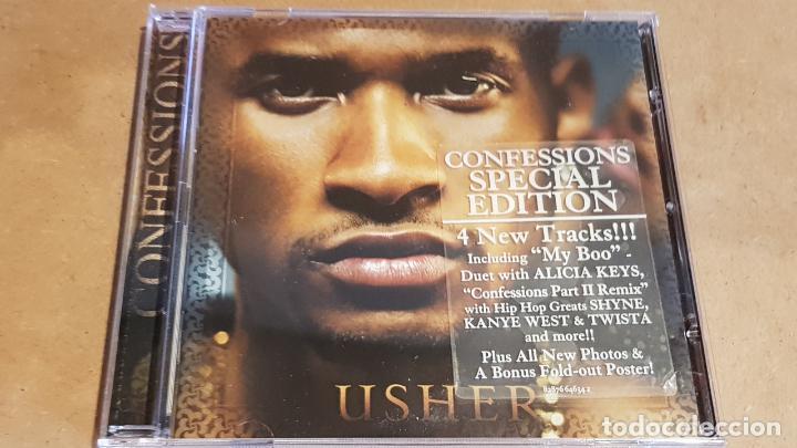 USHER / CONFESSIONS / CD-LA FACE RECORDS-2004 / 21 TEMAS / CALIDAD LUJO. (Música - CD's Hip hop)