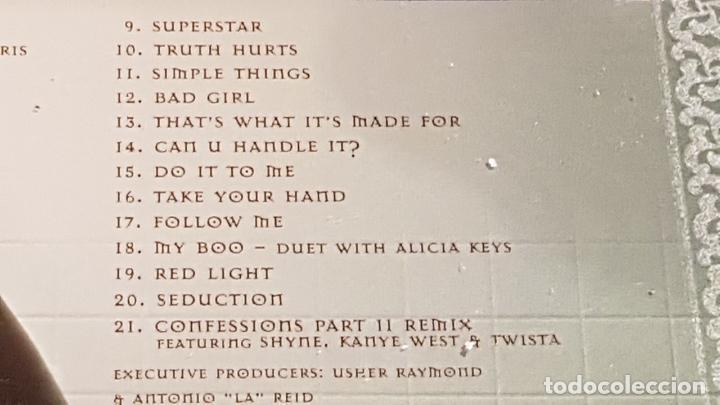 CDs de Música: USHER / CONFESSIONS / CD-LA FACE RECORDS-2004 / 21 TEMAS / CALIDAD LUJO. - Foto 5 - 158514994