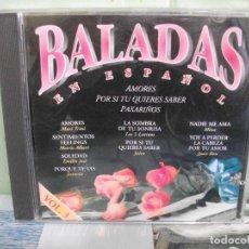 CDs de Música: BALADAS EN ESPAÑOL CD ALBUM VOL 3 VARIOS COMO NUEVO¡¡ PEPETO. Lote 158542842
