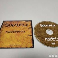 CDs de Música: 419- SOULFLY PROPHECY 1 TRACKS CD PROMOCIONAL. Lote 158563102