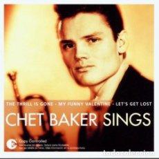 CDs de Música: CHET BAKER SINGS - CD . Lote 158579830
