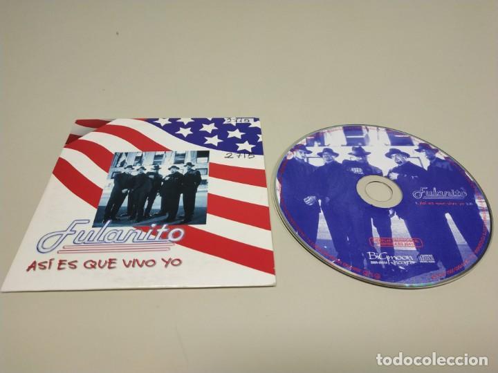 419- FULANITO ASI ES QUE VIVO YO ESPAÑA 1 TRACKS PROMOCIONAL CD (Música - CD's Otros Estilos)