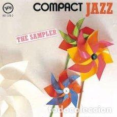CDs de Música: VARIOUS - THE SAMPLER (CD, COMP) LABEL:VERVE RECORDS CAT#: 831 376-2 . Lote 158594914