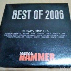 CDs de Música: CD RECOPILATORIO AÑO 2006 (METAL HAMMER). Lote 158667138