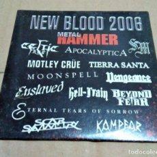 CDs de Música: CD RECOPILATORIO NEW BLOOD 2006 (METAL HAMMER). Lote 158667902