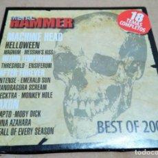 CDs de Música: CD RECOPILATORIO BEST OF 2007 (METAL HAMMER). Lote 158670390