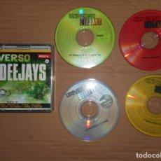 CDs de Música: CD UNIVERSO DEEJAYS ( 4 DISCOS PROGRESSIVE TECHNO MAKINA HARDCORE ). Lote 158684390