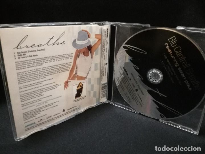 CD MAXI - BLU CANTRELL BREATHE FEATURING SEAN PAUL
