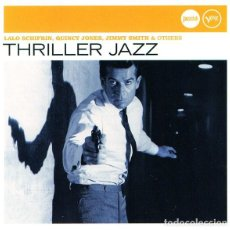 CDs de Música: THRILLER JAZZ - LALO SCHIFRIN, QUINCY JONES, JIMMY SMITH & OTHERS - CD. Lote 158732874